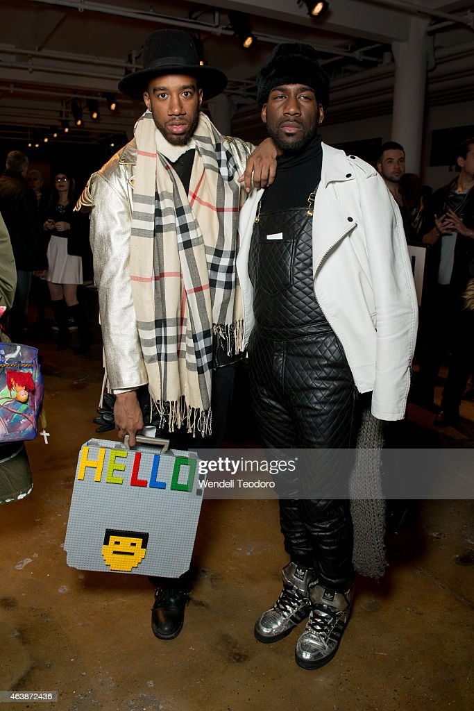 check out b5c58 6b28e Desmond Handon and Marco Polo attends The Blonds fashion ...