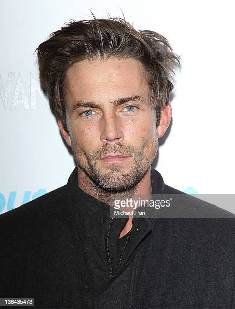 Desmond Harrington arrives at Showtime's new series Hou$e Of Lie$ premiere party and screening held at ATT Center Theatre on January 4 2012 in Los...
