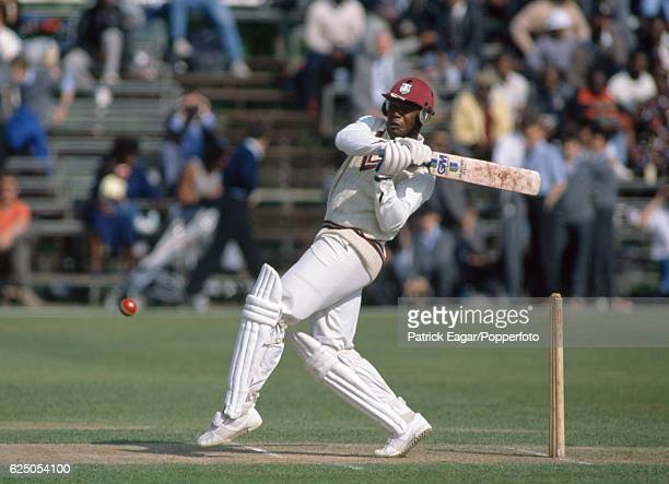 Desmond Haynes batting for West Indies during a tour match between CH Lloyd's XI and the West Indians at Uxbridge Cricket Club Ground Uxbridge 5th...