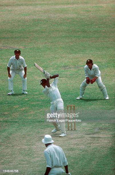 Desmond Haynes West Indies v Australia 2nd Test Bridgetown March 197778