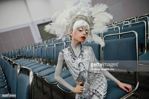 Desmond Napoles attends 4th Annual RuPaul's DragCon at Los Angeles Convention Center on May 13 2018 in Los Angeles California