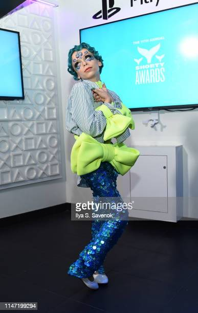 Desmond Napoles attends the 11th Annual Shorty Awards on May 05 2019 at PlayStation Theater in New York City