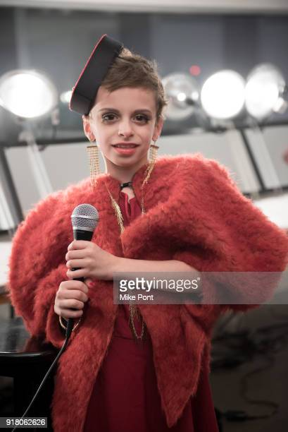 Desmond poses backstage at The Blonds fashion show during New York Fashion Week The Shows at Spring Studios on February 13 2018 in New York City