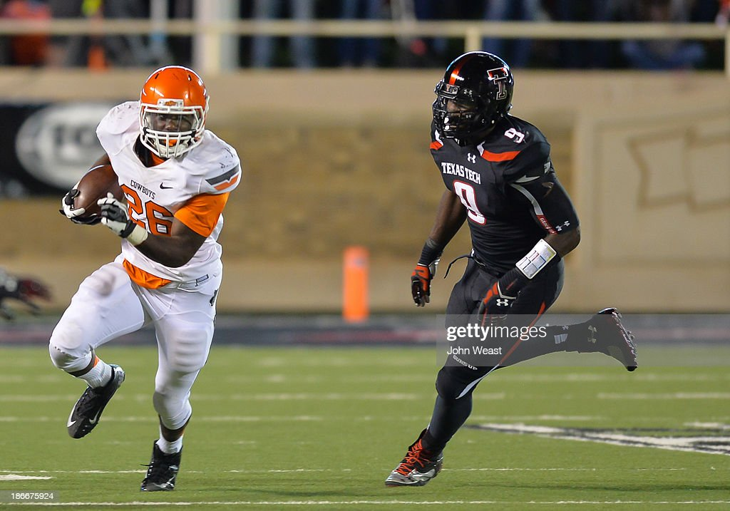 Oklahoma State v Texas Tech : News Photo