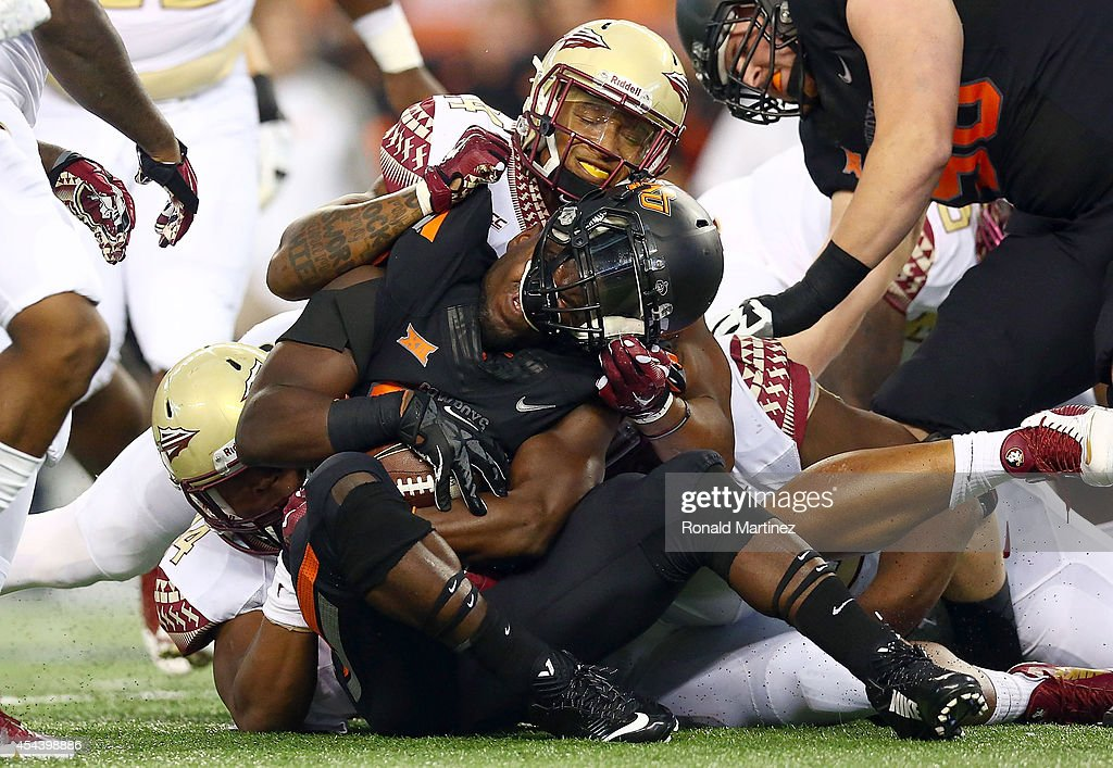 Oklahoma State v Florida State : News Photo