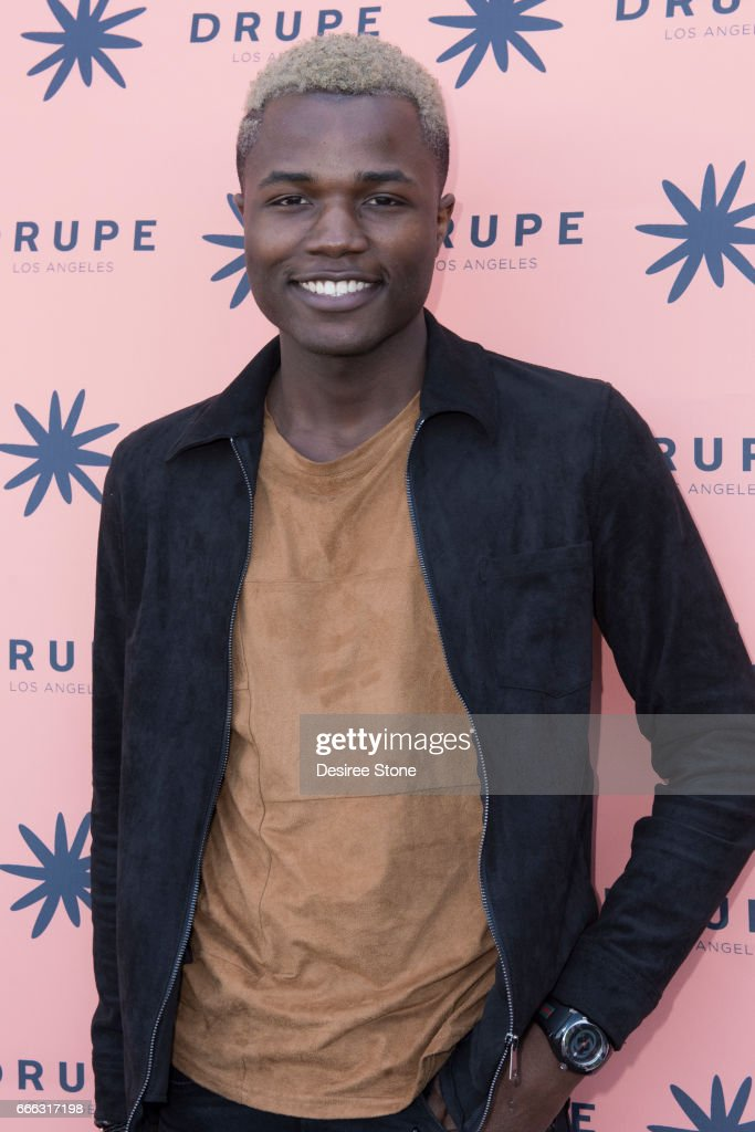 Desola Balogun attends the Drupe Los Angeles Launch Party on April 8, 2017 in Beverly Hills, United States.