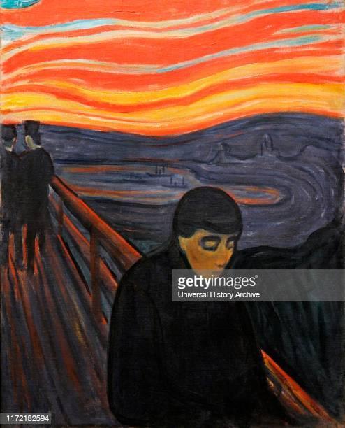 Despair by Edvard Munch .