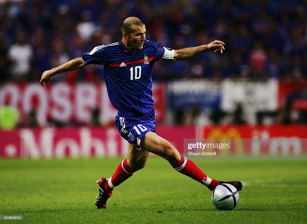 Euro 2004: France v Greece : News Photo