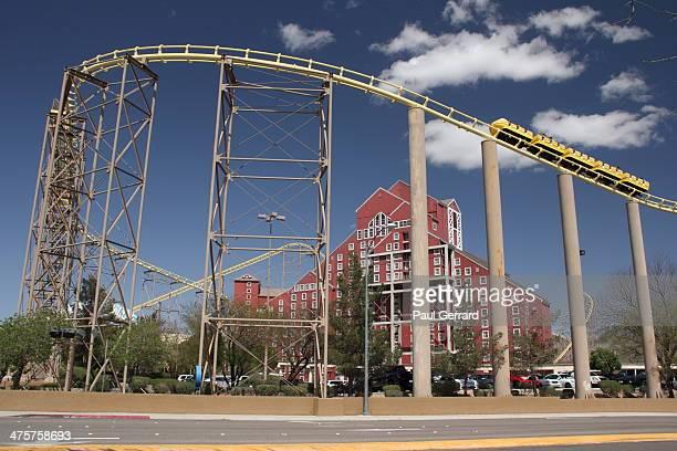 CONTENT] Desperado steel rollercoaster goes around the casino