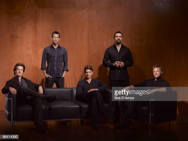 "Desperate Housewives"" stars Kyle MacLachlan as ""Orson Hodge,"" James Denton as ""Mike Delfino,"" Dougray Scott as ""Ian Kavanaugh,"" Ricardo Antonio..."