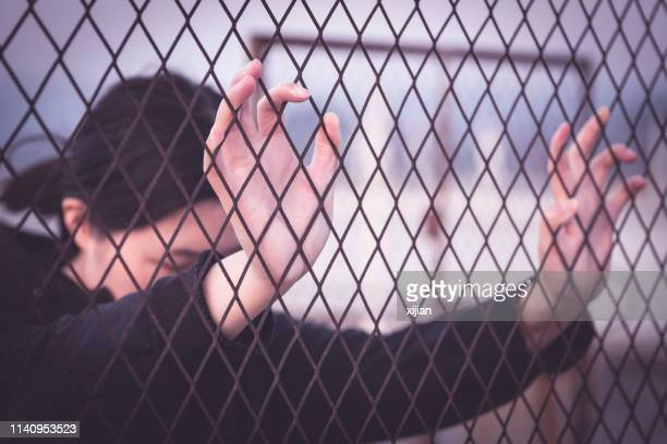 desperate life - crime or recreational drug or prison or legal trial stock pictures, royalty-free photos & images