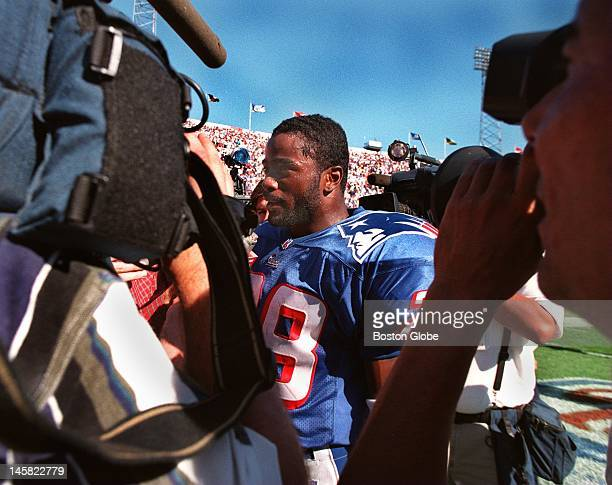 Despite Bill Parcells' wishes Patriots rookie running back Curtis Martin was mobbed by TV cameras and reporters even before he could get off the...