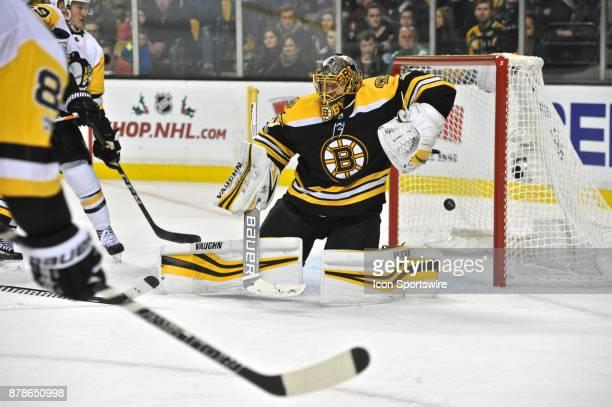 Despite Boston Bruins Goalie Anton Khudobin missing this goal he helped his team get the 4 to 3 win During the Boston Bruins game against the...