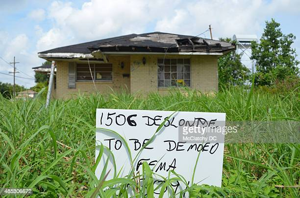 Despite recent economic progress in the city abandoned properties dot New Orleans a decade after Hurricane Katrina made landfall Aug 29 swamping...