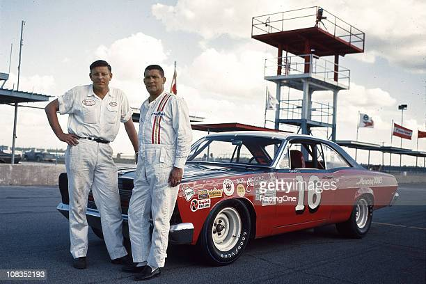 Despite the boycott of NASCAR Cup racing by the Ford Motor Company owner Bud Moore had this ÒindependentÓ Mercury Comet for Darel Dieringer to drive...