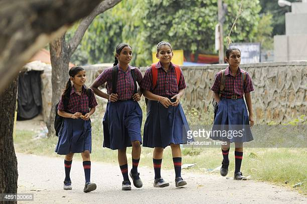 Despite the order from DIOS to wear full sleeves shirts and pants students of government primary and private schools seen wearing halfsleeve shirts...