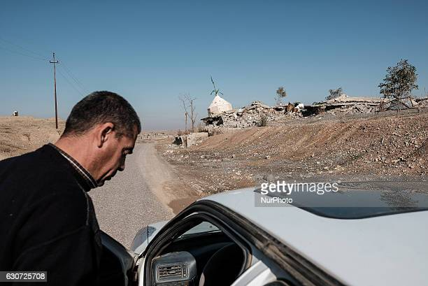 Desroyed by ISIL Kakai shrine in Tel Laban/ Gazakan on 30 December 2016 The Kakai Kurds are returning to their homes as Mosul offensive continiues...