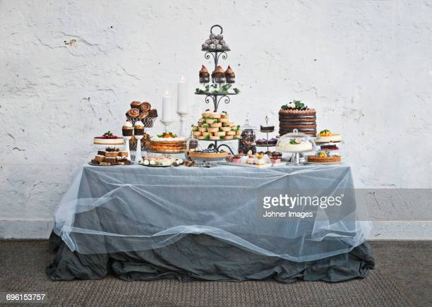 dessert buffet - buffet stock pictures, royalty-free photos & images