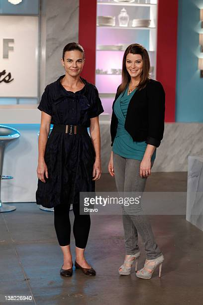 DESSERTS Dessert in Disguise Episode 209 Pictured Guest judge Suzanne Goin host Gail Simmons