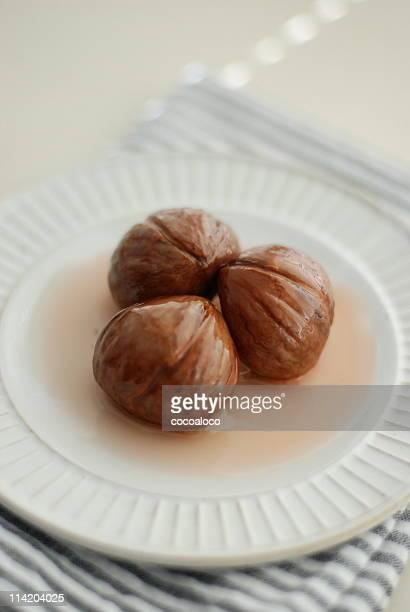 dessert of the chestnut