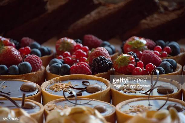 desserts and patries - borough market - fotografias e filmes do acervo