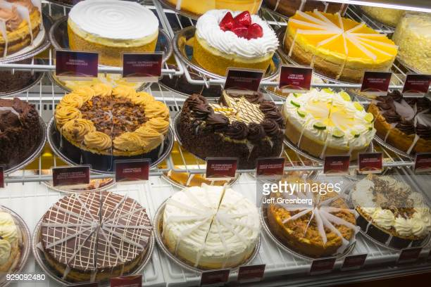 Desserts on display in the Cheesecake Factory at The Mall at Millenia