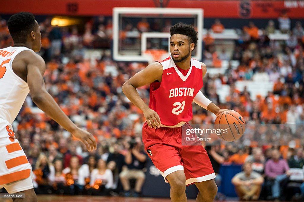 Boston v Syracuse : News Photo