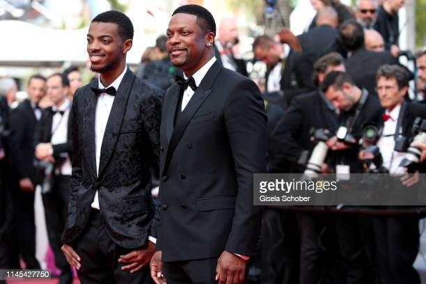 Destin Christopher Tucker and Chris Tucker attend the screening of Once Upon A Time In Hollywood during the 72nd annual Cannes Film Festival on May...