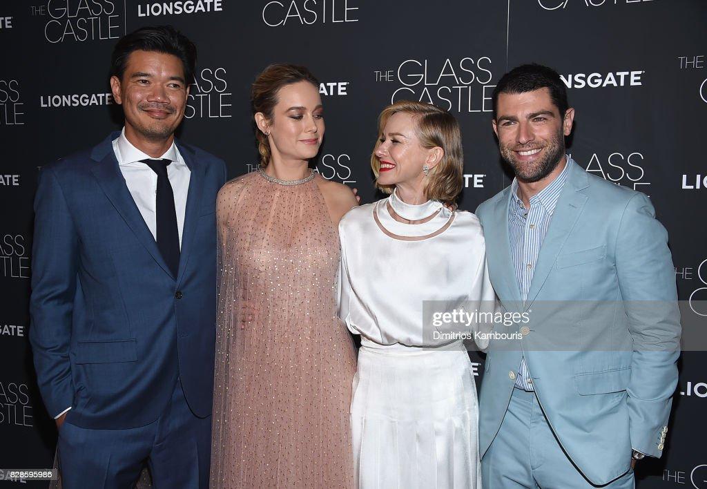 Destin Daniel, Brie Larson, Naomi Watts and Max Greenfield attend at SVA Theatre on August 9, 2017 in New York City.