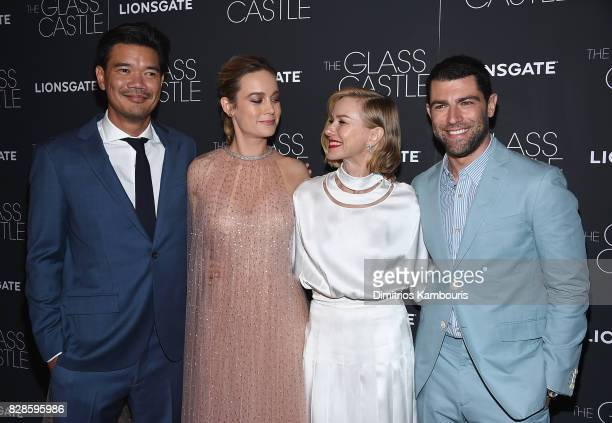 Destin Daniel Brie Larson Naomi Watts and Max Greenfield attend at SVA Theatre on August 9 2017 in New York City