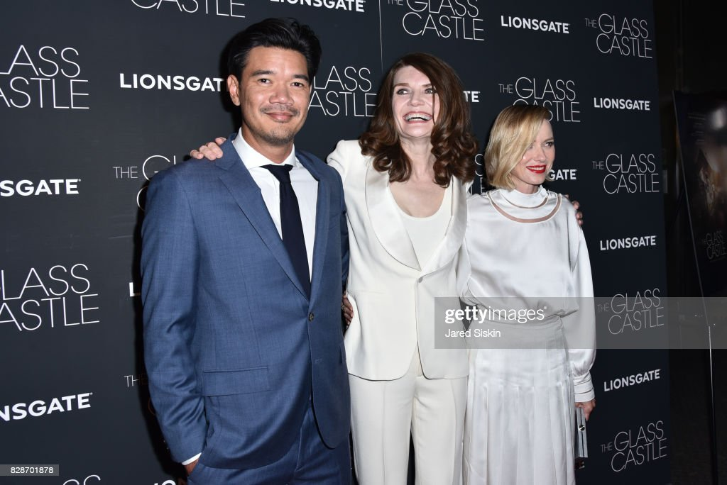 Destin Daniel Cretton, Jeannette Walls and Naomi Watts attends 'The Glass Castle' New York Screening at SVA Theatre on August 9, 2017 in New York City.
