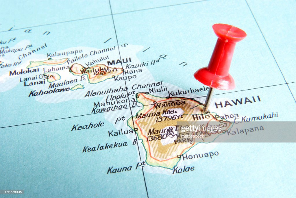 Destination Hawaii : Stock Photo