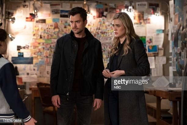 "Destination Unknown"" Episode 308 -- Pictured: Matt Long as Zeke Landon, Melissa Roxburgh as Michaela Stone --"