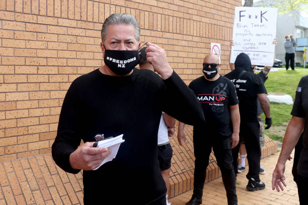 NZL: Destiny Church Leader Brian Tamaki Charged With Breaching Bail Following Anti-Lockdown Protests