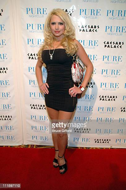 Destiny Davis during Jenna Jameson Hosts a Surprise Birthday Party for MMA Champ Tito Ortiz January 23 2007 at Pure Nightclub in Las Vegas California...