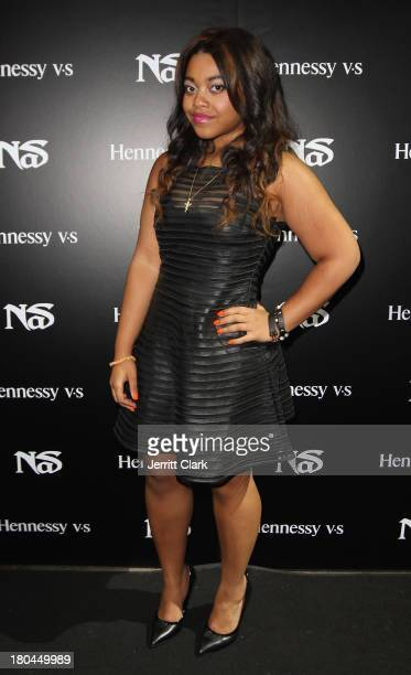 Destiny Jones attends Nas 40th Birthday Celebration Dinner And Party at Avenue NYC on September 12, 2013 in New York City.