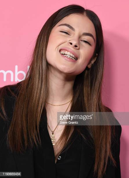 Destiny Rogers arrives at the 2019 Billboard Women In Music at Hollywood Palladium on December 12 2019 in Los Angeles California