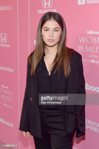 Destiny Rogers attends Billboard Women In Music 2019 presented by YouTube Music on December 12 2019 in Los Angeles California