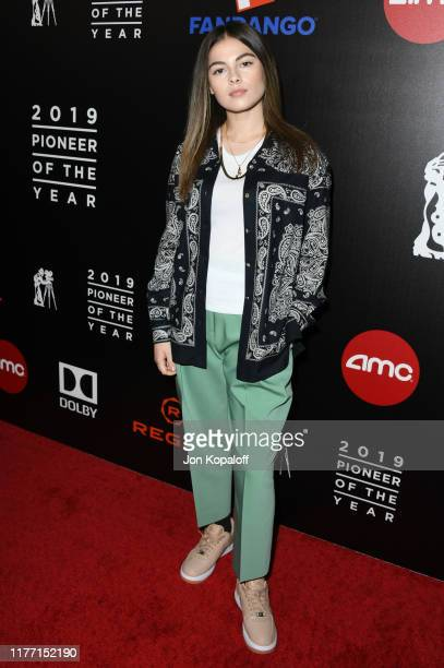 Destiny Rogers attends Will Rogers 78th Annual Pioneer Dinner Honoring Elizabeth Banks at The Beverly Hilton Hotel on September 25 2019 in Beverly...