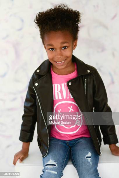 Destiny Toliver poses for portraits at New Faces at the Artists Project on March 1, 2017 in Los Angeles, California.