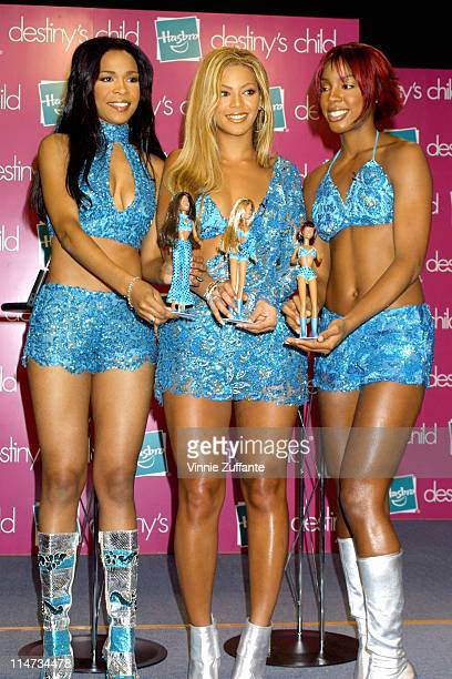 Destiny's Child and their dolls