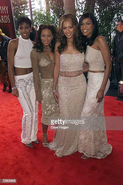 Destiny's Child at the 2000 Grammy Awards held in Los Angeles CA on February 24 2000 Photo by Dave Hogan/Getty Images