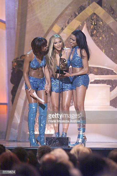 Destiny's Child at The 43rd Annual Grammy Awards Staples Center Los Angeles The Grammys will be broadcast live from Staples Wednesday Feb 21 2001...
