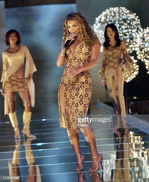 Destiny's Child during 8th Annual Victoria's Secret Fashion Show Runway at The New York State Armory in New York City New York United States
