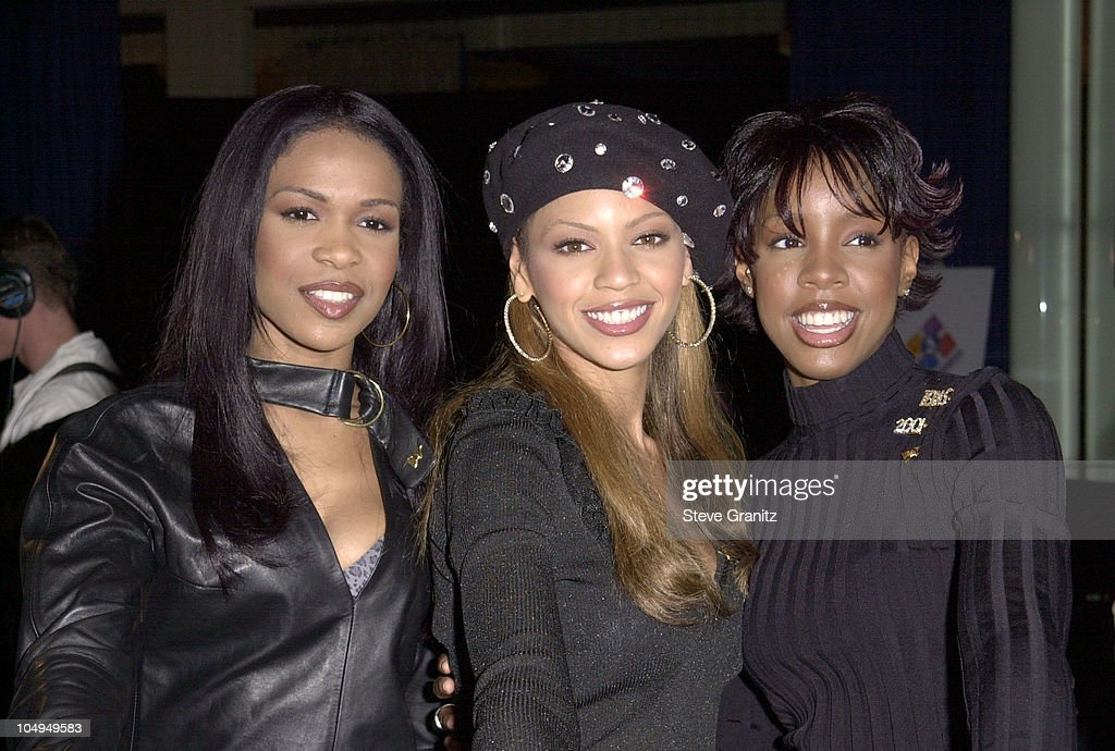 Destiny's Child during The 43rd Annual GRAMMY Awards - Nominations Announcement at Beverly Hilton Hotel in Beverly Hills, California, United States.