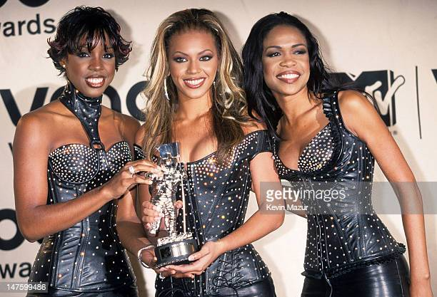 Destiny's Child during The 72nd Annual Academy Awards - Nominees Luncheon at Beverly Hilton Hotel in Beverly Hills, California, United States.