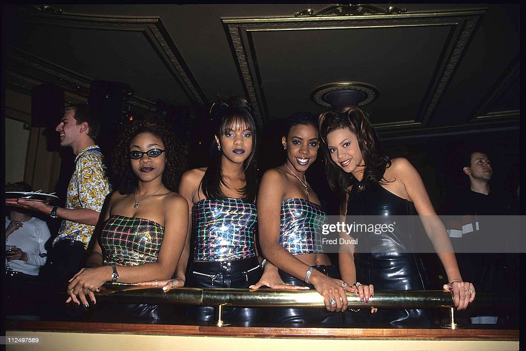 Destiny's Child photocall at the Fashion Cafe : News Photo