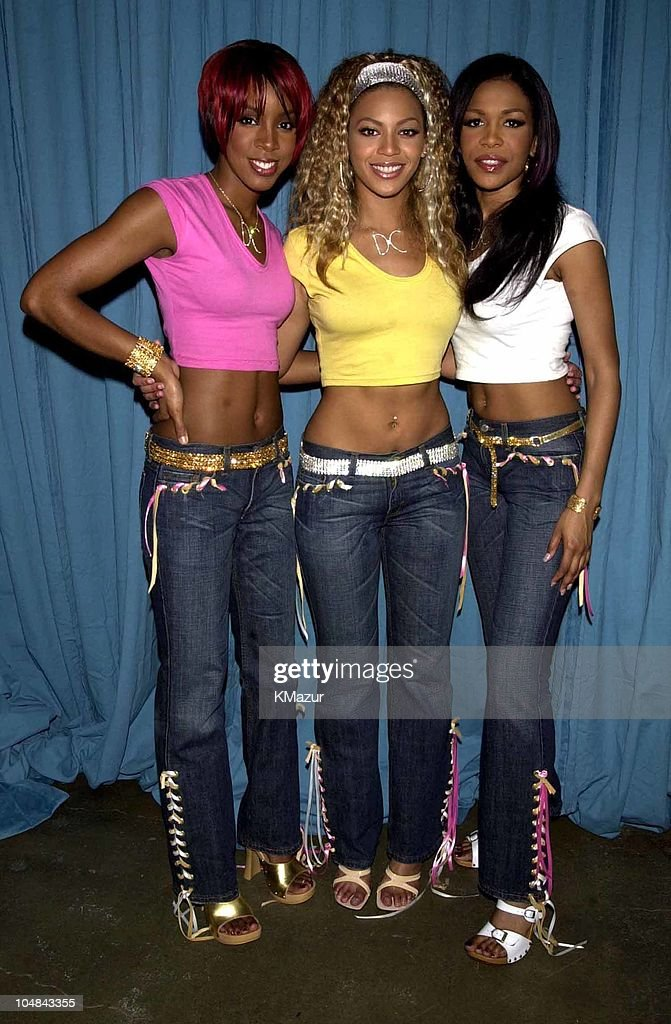Destiny?s Child, seen here in their customized Levi?s Superlow Jeans, is