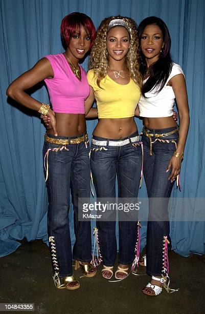 Destiny's Child Kelly Rowland Beyonce Knowles Michelle Williams