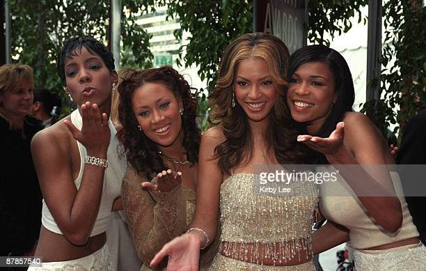 Destiny's Child Kelly Rowland Farrah Franklin Beyonce Knowles and Michelle Williams